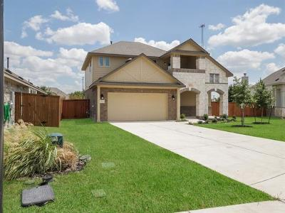 Pflugerville Single Family Home For Sale: 19300 Wearyall Hill Ln