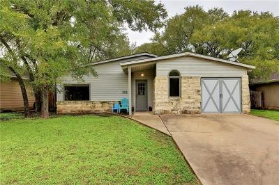 Cedar Creek Single Family Home Pending - Taking Backups: 112 Oak River Dr
