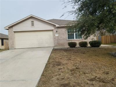 Hutto Single Family Home For Sale: 108 Sylvan St