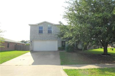 Temple Single Family Home For Sale: 5203 Coach Stop Dr