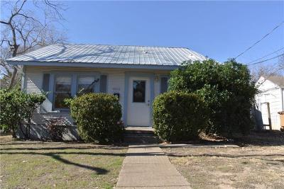 Austin Single Family Home For Sale: 4502 Avenue F