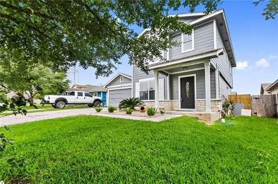 Manor Single Family Home Pending - Taking Backups: 11320 Hungry Horse Dr
