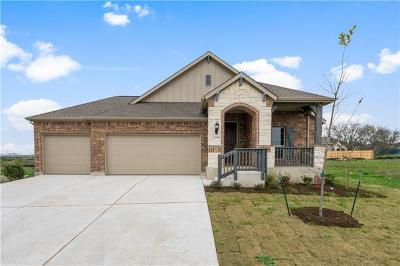 Round Rock Single Family Home For Sale: 6609 Casiano Cv