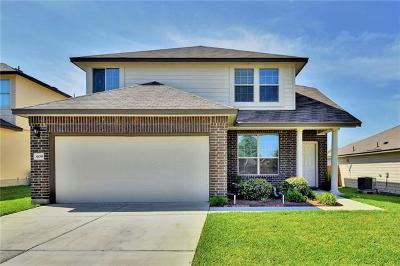 Williamson County Single Family Home For Sale: 408 Obsidian Ln