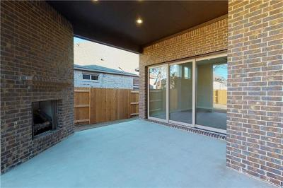 Round Rock Single Family Home For Sale: 3824 Lombard Dr