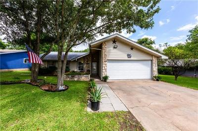 Pflugerville Single Family Home Pending - Taking Backups: 16000 Parkway Dr