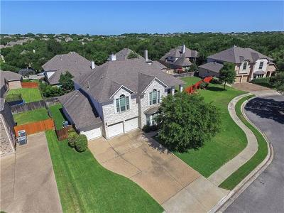 Round Rock Single Family Home For Sale: 3023 Hidden Bluff Cv