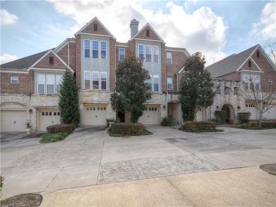 Georgetown Condo/Townhouse For Sale: 1211 Haven Ln #102