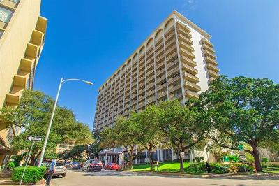 Condo/Townhouse Pending - Taking Backups: 1801 Lavaca St #6D