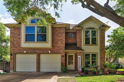 Cedar Park Single Family Home For Sale: 2711 Aster Pass