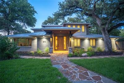 Austin Single Family Home For Sale: 2500 Great Oaks Pkwy