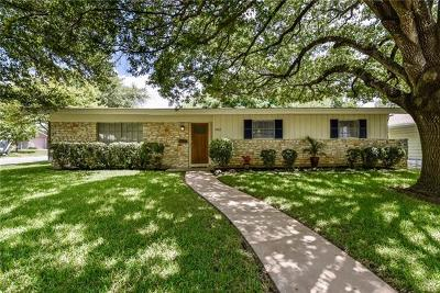 Travis County Single Family Home For Sale: 1912 Burbank St