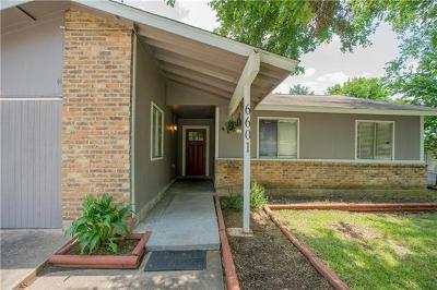 Austin Single Family Home For Sale: 6601 Branchwood Dr