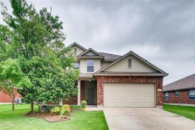 Hutto Single Family Home For Sale: 321 Riverwalk Dr