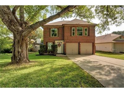 Travis County Single Family Home For Sale: 608 Kingfisher Creek Dr