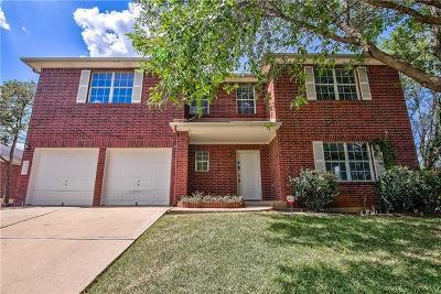 Round Rock Single Family Home For Sale: 3838 Laurel Ridge Dr