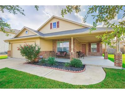 Pflugerville Single Family Home For Sale: 3813 Heron Roost Pass