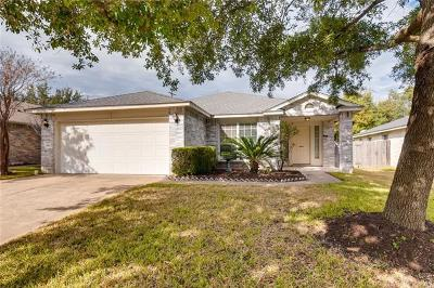 Round Rock Single Family Home For Sale: 3668 Spring Canyon Trl