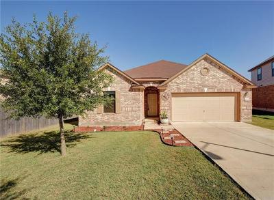 Round Rock Single Family Home For Sale: 1138 Sussex Pl