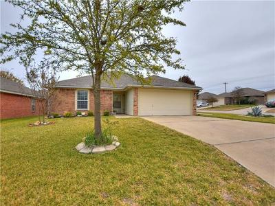 Jarrell Single Family Home For Sale: 100 Calcite Ln