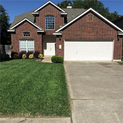 Cedar Park Single Family Home Pending - Taking Backups: 2208 Portwood Bend Cv