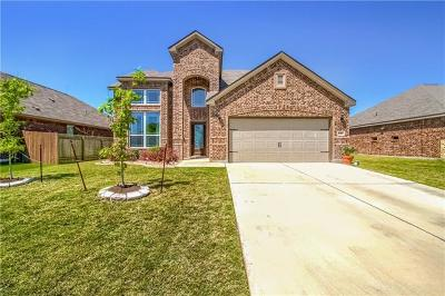 Hutto Single Family Home For Sale: 1003 Coconut Cv