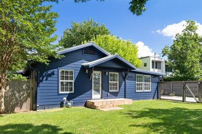 Single Family Home For Sale: 4913 Woodrow Ave