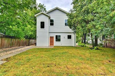 Hays County, Travis County, Williamson County Single Family Home For Sale: 2417 Wilson St #B
