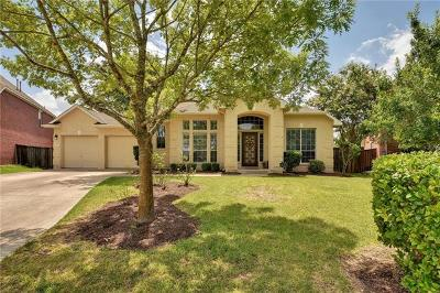 Manor Single Family Home For Sale: 13620 Amber Dawn Ct