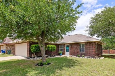 Leander Single Family Home Active Contingent: 618 Northern Trl