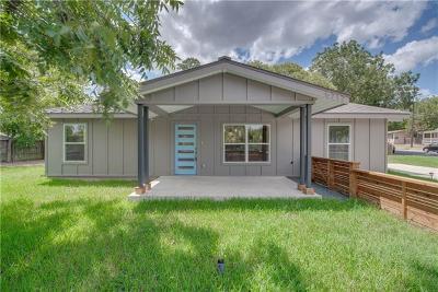 Travis County Single Family Home For Sale: 5712 Jeff Davis Ave