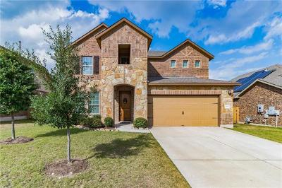 Round Rock Single Family Home For Sale: 2708 Santa Ana Ln