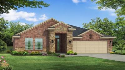 Round Rock Single Family Home For Sale: 5009 Fiore Cv