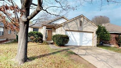 Round Rock Single Family Home For Sale: 8506 Hillrock Dr