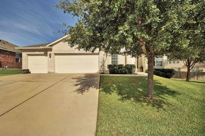 Round Rock Single Family Home Pending - Taking Backups: 1310 Clary Sage Loop