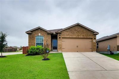 Jarrell Single Family Home For Sale: 201 Ruby Ln
