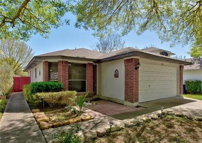 Hays County, Travis County, Williamson County Single Family Home Pending - Taking Backups: 8145 Huddleston Ln