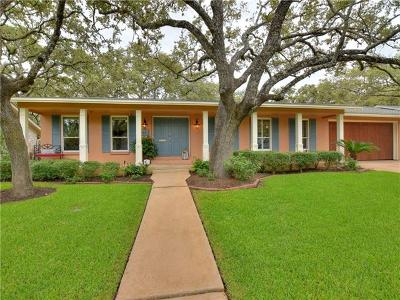 Austin Single Family Home For Sale: 3917 Edgerock Dr