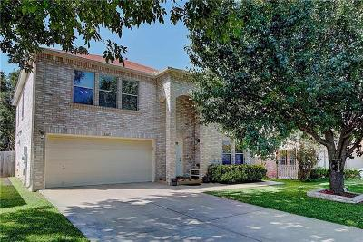 Cedar Park Single Family Home For Sale: 1607 Eagle Wing Dr