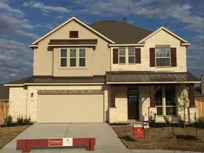 Round Rock Single Family Home For Sale: 8424 Paola Cv
