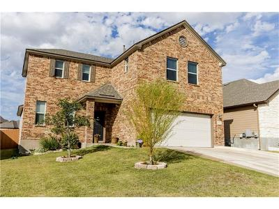Round Rock Single Family Home For Sale: 5828 Sardinia Dr