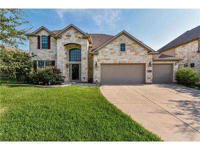 Round Rock Single Family Home For Sale: 1532 Hidden Springs Path