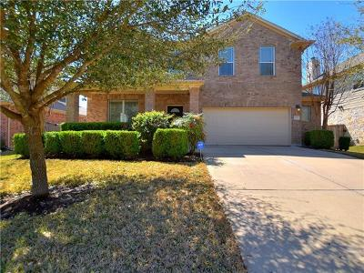 Round Rock Single Family Home For Sale: 1707 Westmeadow Trl