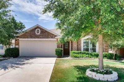 Pflugerville Single Family Home For Sale: 3117 Hawks Swoop Trl