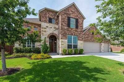 Cedar Park Single Family Home For Sale: 407 Clear Shadow Cv