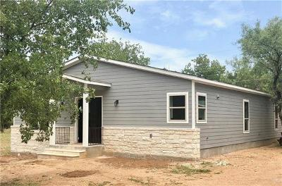 Burnet County Single Family Home For Sale: 855 Aspen Ln