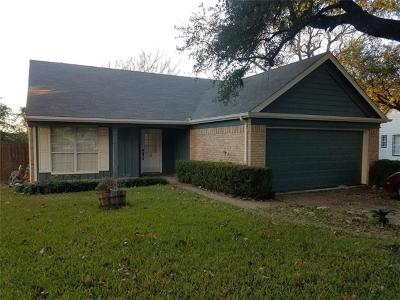 Leander Single Family Home Pending - Taking Backups: 16200 Kicking Bird Dr