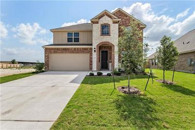 Round Rock Single Family Home For Sale: 6736 Calabria Dr