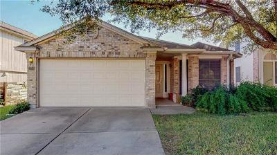 Pflugerville Single Family Home For Sale: 17215 Tobermory Dr