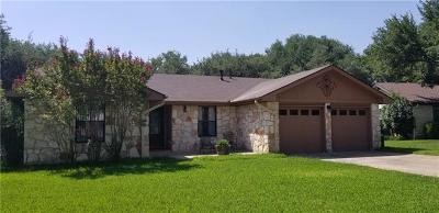 Georgetown Single Family Home For Sale: 501 Friendswood Dr